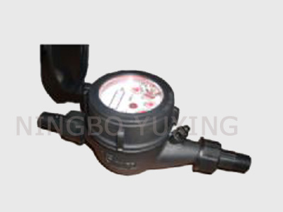 Single Jet Plastic Water Meter