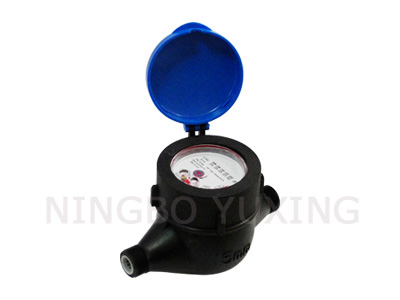 Volumetric Plastic Water Meter